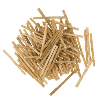 Bones! gedraaide sticks 12.5 cm 100st