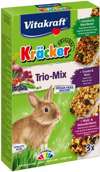 Kräcker® Trio-Mix konijn met groente/noot/bosbessen