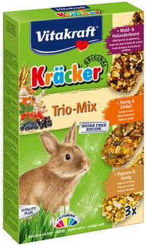 Kräcker® Trio-Mix konijn met bosbessen/honing/popcorn