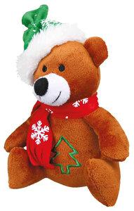 Kerstbeer pluch 20 cm