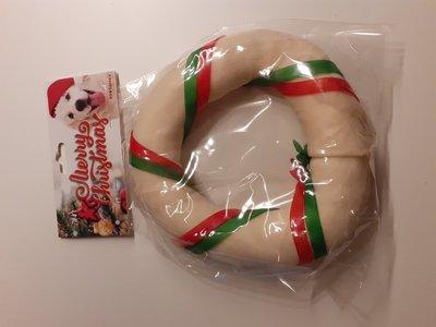 Kerst snack in buffel huid,.